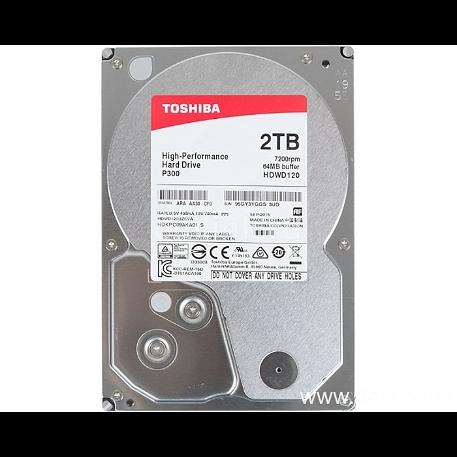 "Toshiba P300 3.5"" 2TB 7200rpm 64MB SATA3"