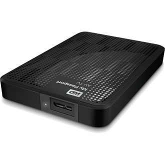 "Western Digital My Passport AV-TV 2.5"" 1000GB 5400rpm 16MB USB3.0"