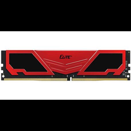 TeamGroup Elite Plus Black/Red 8GB (1x8) DDR4 2666MHz