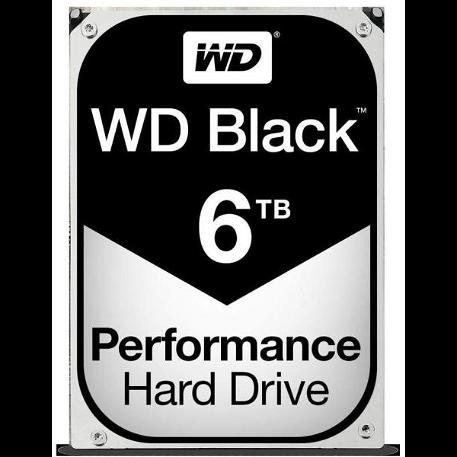 """Western Digital Black 3.5"""" 6TB 7200rpm 256MB SATA3"""