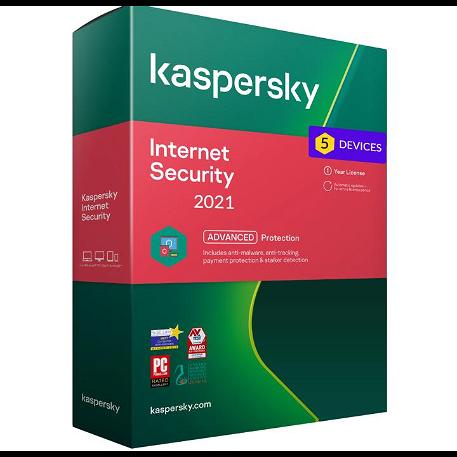 Kaspersky Internet Security - 5 eszköz / 1 év