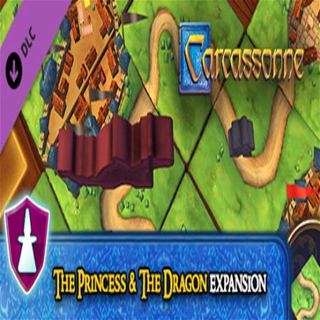 Carcassonne - The Princess & the Dragon Expansion
