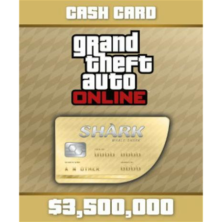 Grand Theft Auto V: Whale Shark Cash Card